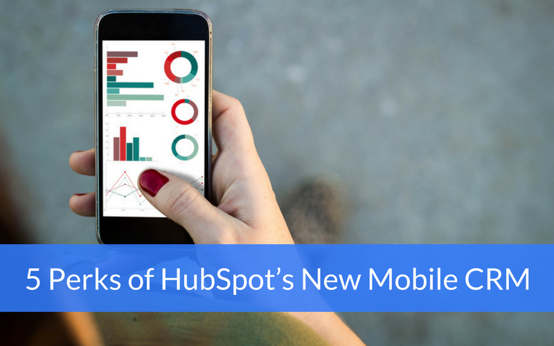 hubspot new mobile crm