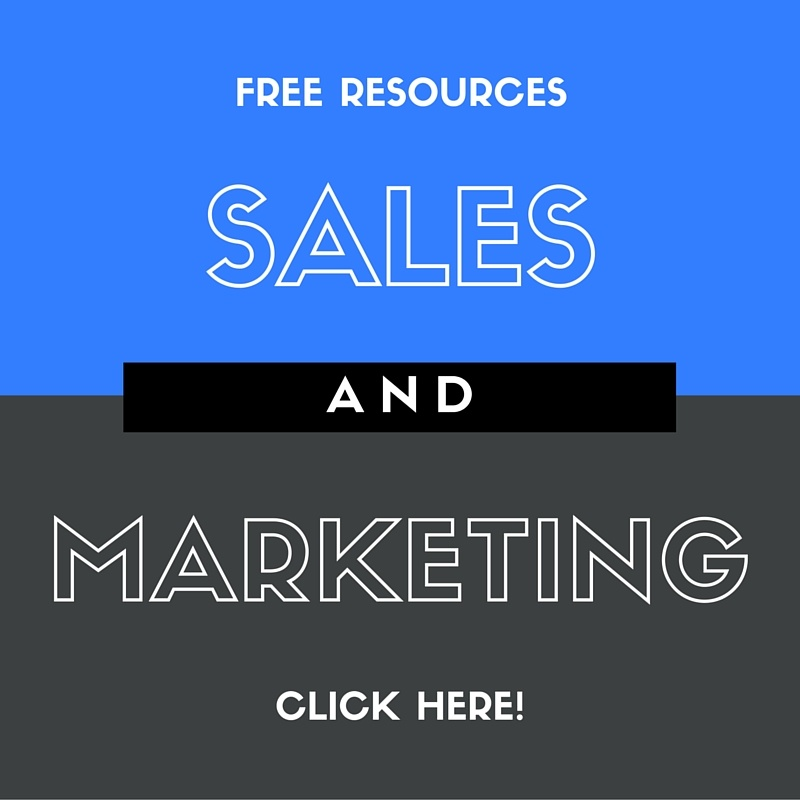 Sales and Marketing Resources